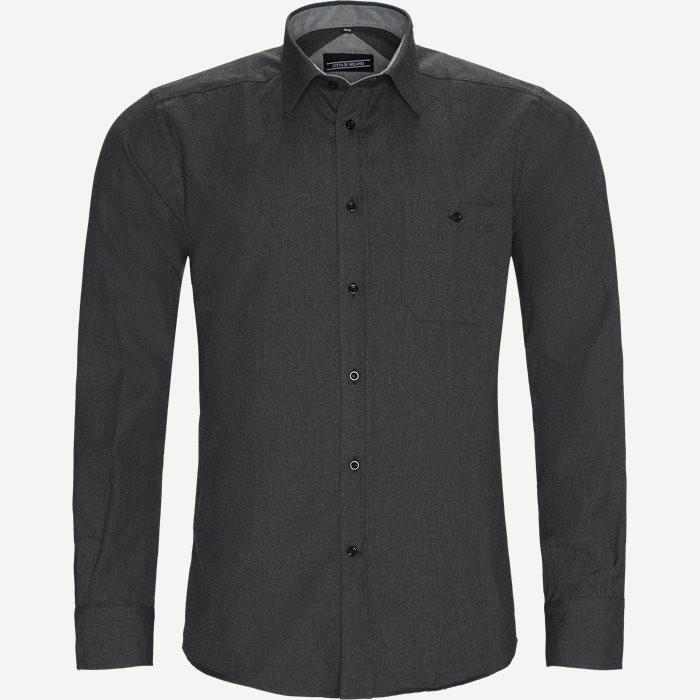 Shirts - Regular - Grey